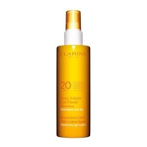 cc8ebe70f Clarins Sun Care Spray Gentle Milky Mild Protection UVB/UVA 20 Body ...