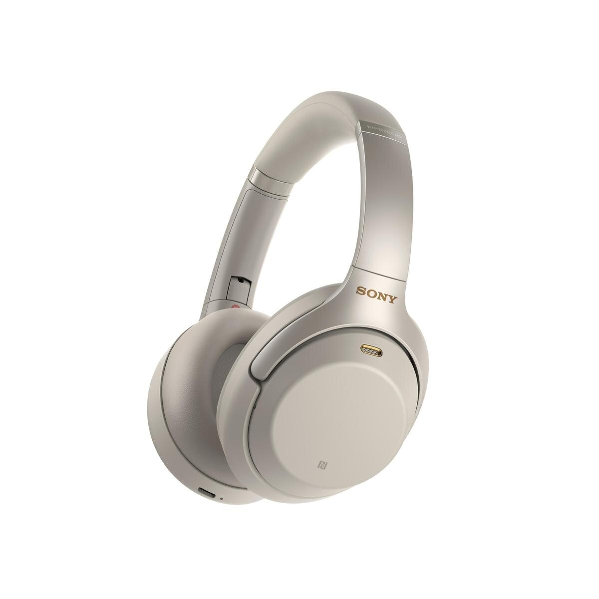 Sony Wh 1000xm3 Premium Bluetooth Wireless Noise Cancelling Headphones Silver