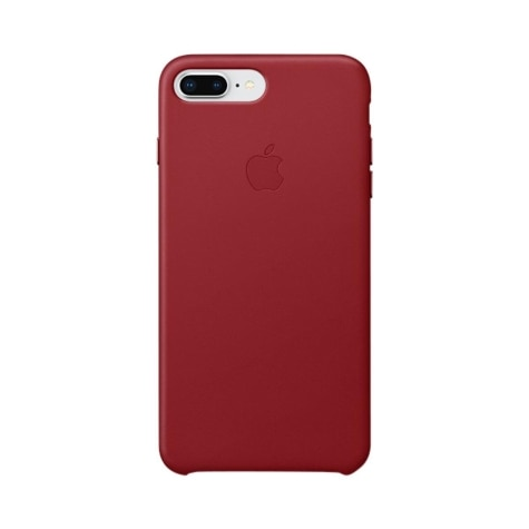 pretty nice 7306d 350c9 Apple iPhone 8 Plus / 7 Plus Leather Case - (Product) Red MQHN2ZM/A