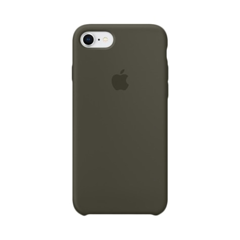 the best attitude 35f66 9746b Apple iPhone 8 / 7 Silicone Case - Dark Olive MR3N2ZM/A